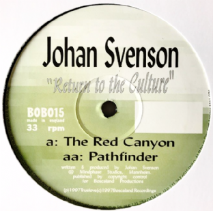 "Johan Svenson - Return To The Culture EP (12"") (Promo) (VG/NM)"